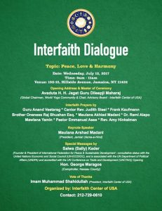 free shipping bec5b e44bf Interfaith Dialogue Session and Prayers